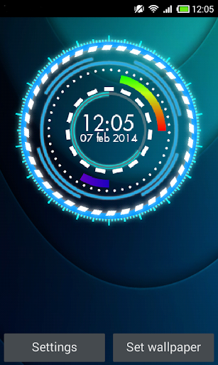 Super Clock Live Wallpaper