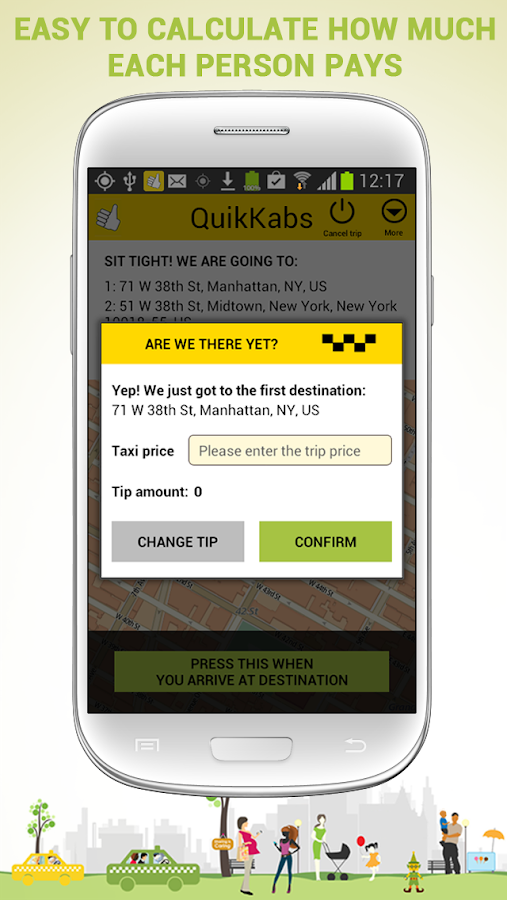 QuikKabs taxi share