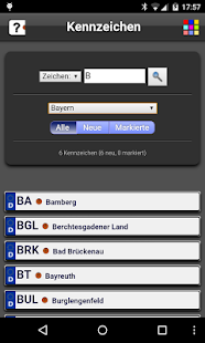 German Car Plates Free- screenshot thumbnail