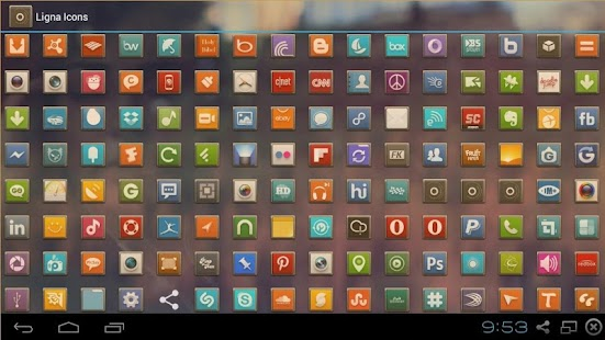 LIGNA ICONS FREE APEX/NOVA/ADW - screenshot thumbnail
