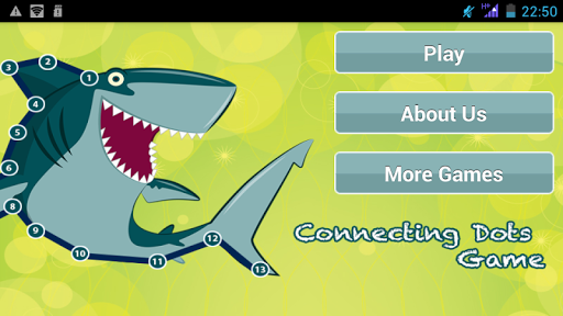 Connect Dots Game: Animals