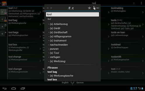 Free Dict German English- screenshot thumbnail