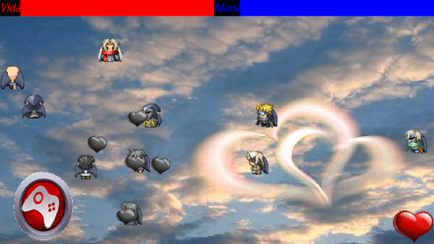 cupido lanzacorazones apk screenshot
