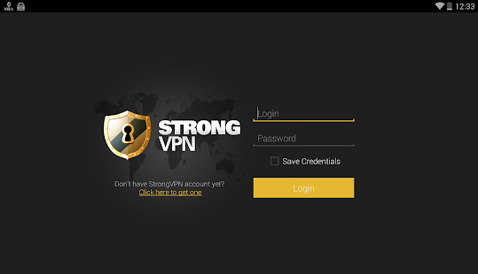 StrongVPN OpenVPN Client - náhled