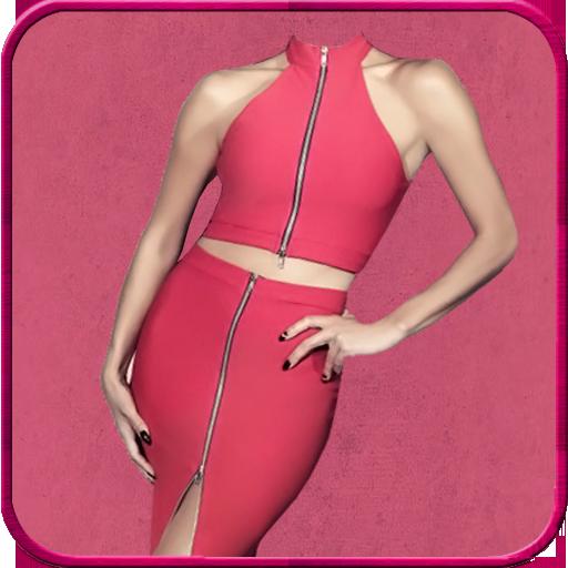 Woman Fashion Suit Photo Maker LOGO-APP點子