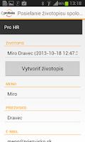 Screenshot of Profesia.sk