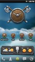 Screenshot of MLG Medieval Widget Theme