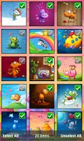 Screenshot of Tooshtoosh Wallpapers