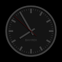 Discreet Clock Wallpaper icon