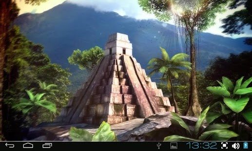 Mayan Mystery 3D Pro lwp - screenshot thumbnail