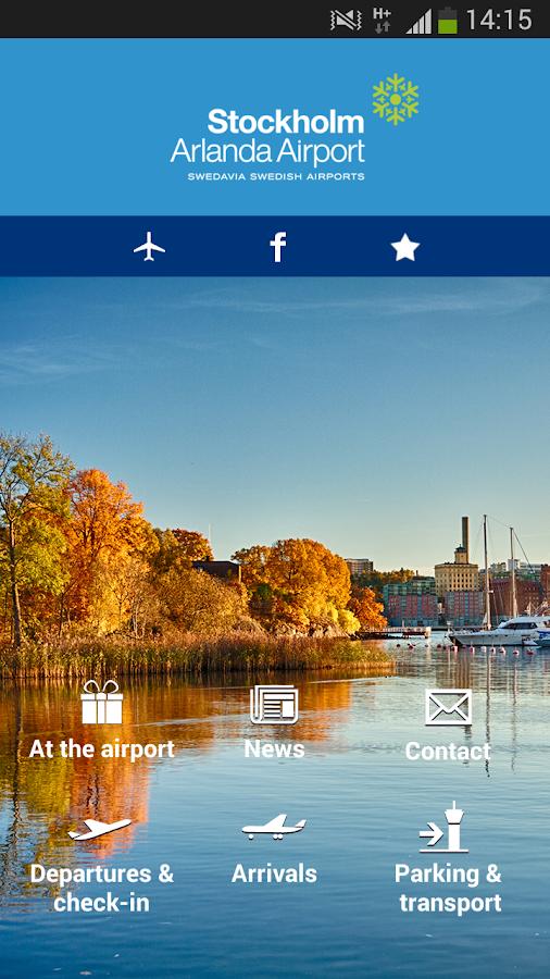 Swedavia Swedish Airports - screenshot