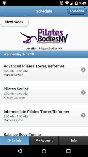 Pilates Bodies NY