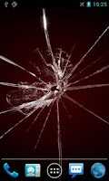 Screenshot of Cracked Screen Live Wallpaper