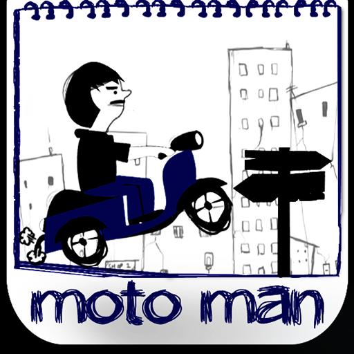 MOTOMAN - Paperworld LOGO-APP點子