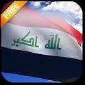 3D Iraq Flag icon