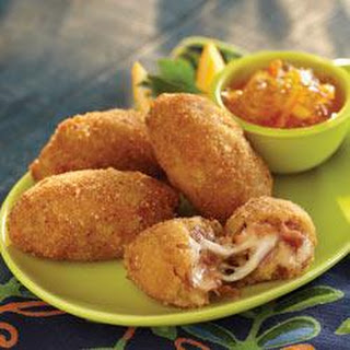 Ham and Cheese Croquettes.