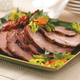 Apricot-Glazed Ham Recipe