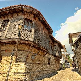 Centennial house by Berrin Aydın - Buildings & Architecture Homes ( wood, burgas, house, stones, bulgaria,  )
