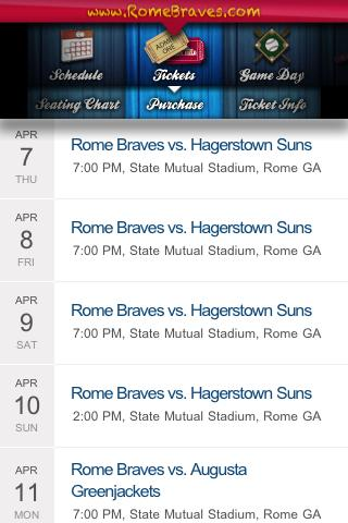 Rome Braves - screenshot