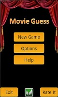 Screenshot of Movie Guess
