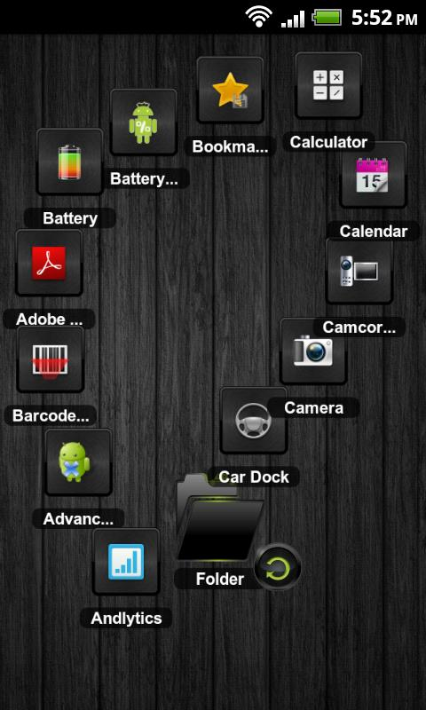 TSF Shell Theme Andy HD - screenshot