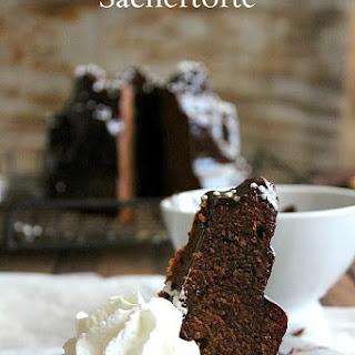 Sachertorte–Austrian Chocolate Cake.