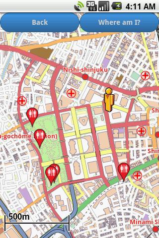 Tokyo Amenities Map