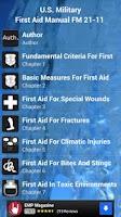 Screenshot of First Aid