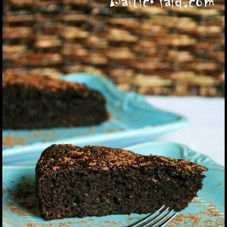 Healthy Chocolate Cake with Zucchini