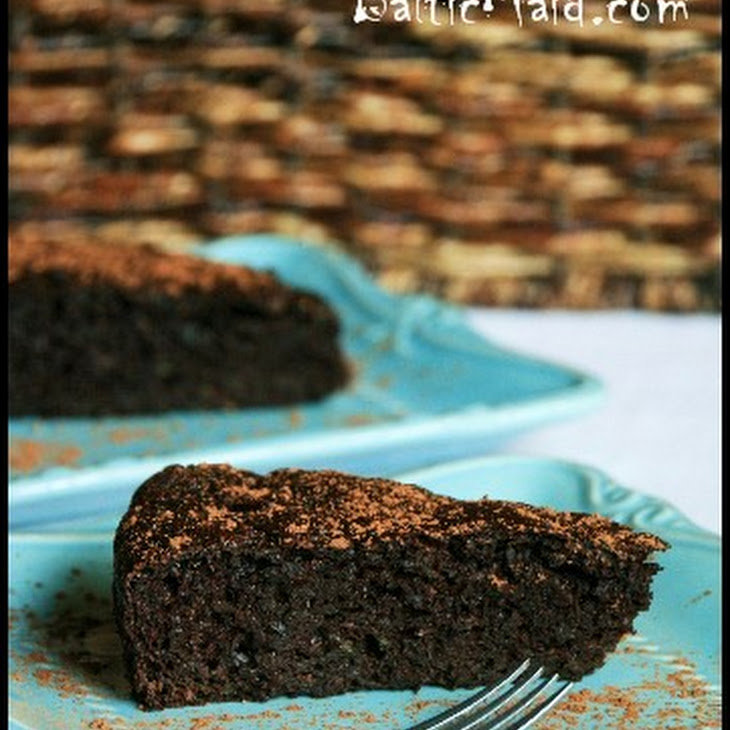 Healthy Chocolate Cake with Zucchini Recipe