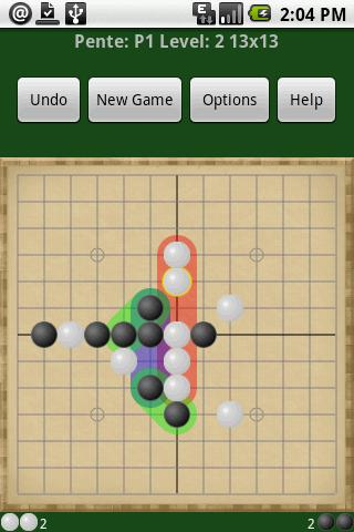 Pente- screenshot