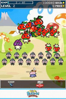 コンチを集めてまいれ〜トモダチ60人できるかな?〜 - screenshot