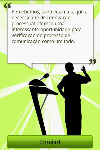 Gerador de Lero Lero- screenshot