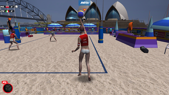Volleyball Full Body Control- screenshot thumbnail