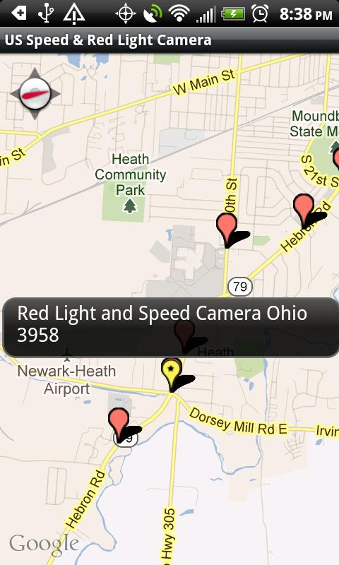 Speed Red Light Camera Map Android Apps On Google Play - Us speed camera map