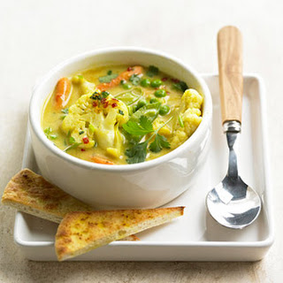 Curried Vegetable Soup.
