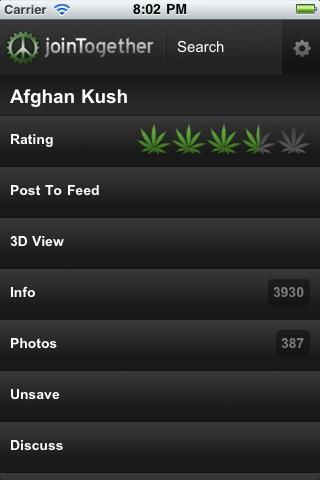 Weed Strains 3D+ joinTogether - screenshot