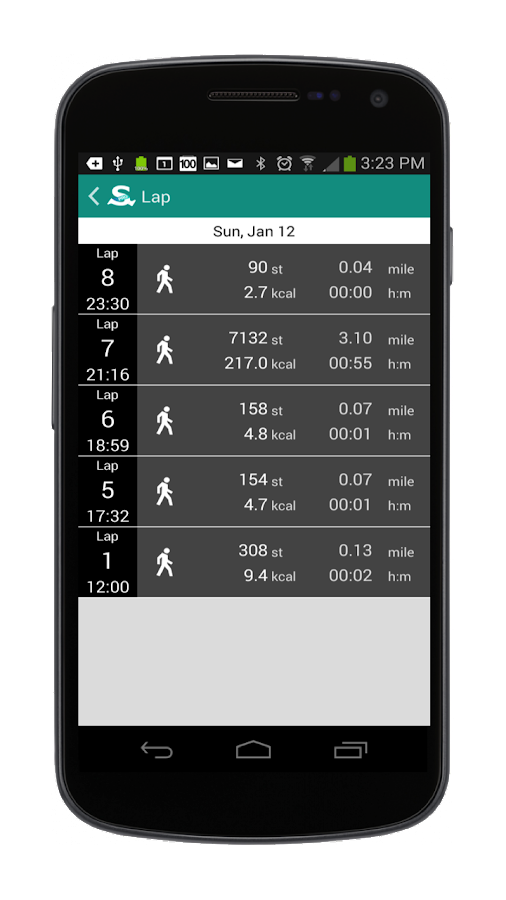 StepOn-Pro Step Tracker- screenshot