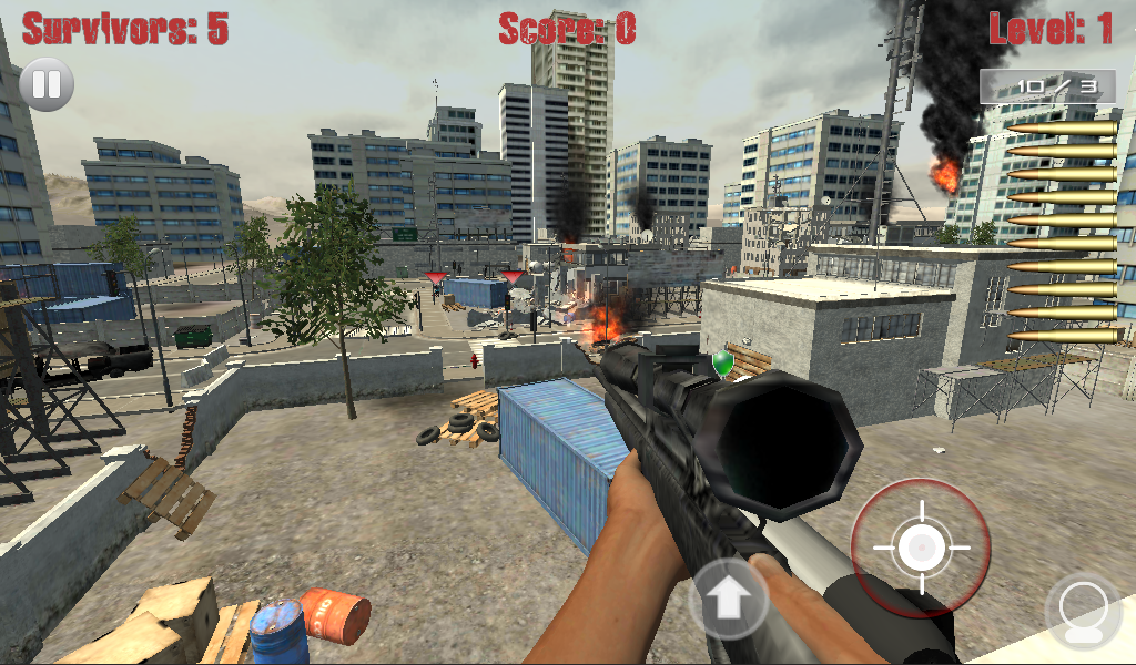 Sniper Shooter - Zombie Vision - screenshot