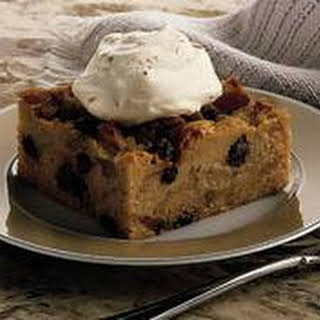 French Apple Bread Pudding.