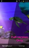 Screenshot of My Seaturtles HD FREE LWP