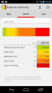 Guilt - Expense Manager - screenshot thumbnail