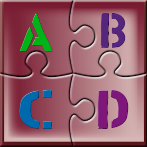 Kids ABC Jigsaw Puzzle Game 教育 LOGO-玩APPs