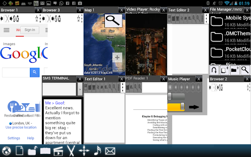 Split View Multi Screen Tablet - screenshot thumbnail