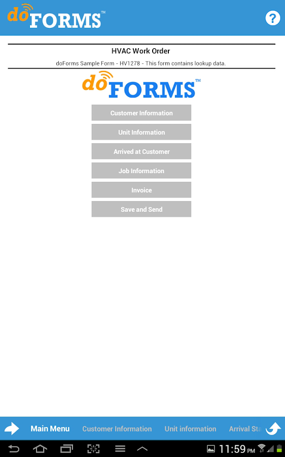 doForms | Easy Forms & Apps - screenshot