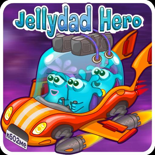 JellyDad Hero Icon