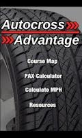 Screenshot of Autocross Advantage