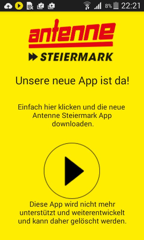Alte Antenne Steiermark App - screenshot