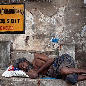 Home less by Shaik Mohaideen - People Street & Candids (  )
