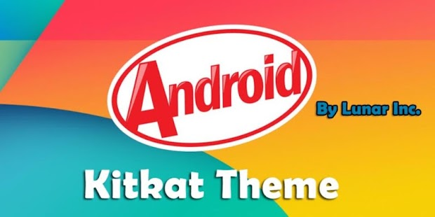 Android 4.4 Kitkat Theme